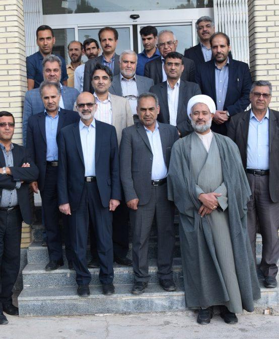 جلسه هم اندیشی دانشگاه شهید باهنر کرمان و مجتمع آموزش عالی زرند