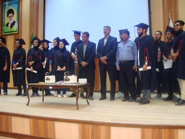 جشن فارغ التحصیلی دانشجویان رشته معدن