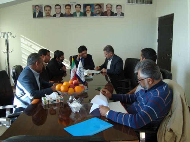 بازدید دفتر نظارت و ارزیابی استان از مجتمع آموزش عالی زرند